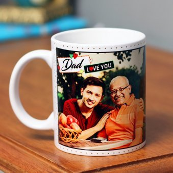 Personalised Fathers day Mug for Papa