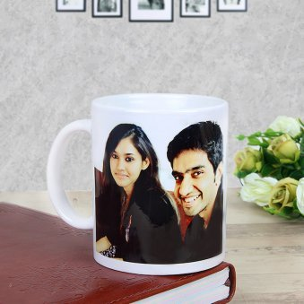 Customized Coffee Mugs for Friends with Front Sided View