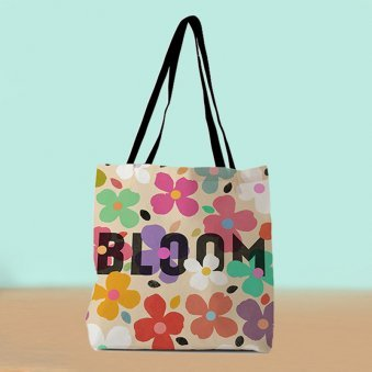 Bloom Daily Tote Bag