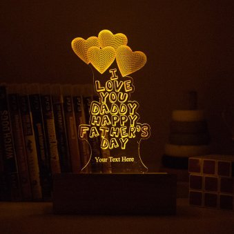 Blooming Fathers Day Night Lamp