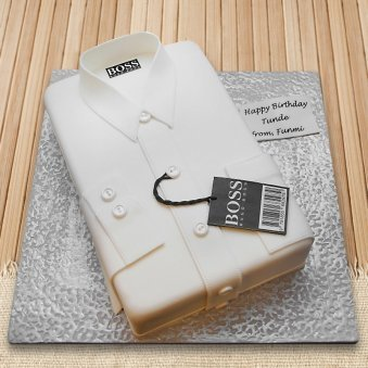 Hugo boss shirt designer cake