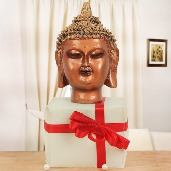 Lord Buddha Face Statue