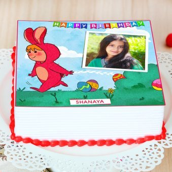 Photo Cake for Kids