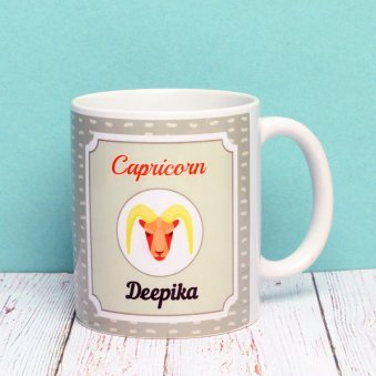 Personalised Mug for Capricorn People