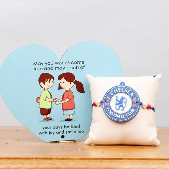 Chelsea FC and Heart Shaped Table Top Gift Combo