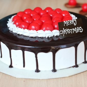 Choco Cherry Treat For Christmas Celebration - Zoom View