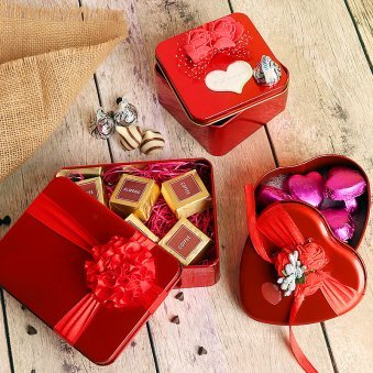 Handmade Chocolates in Boxes
