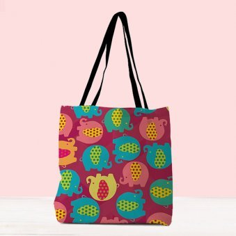 Colourful Printed Bag