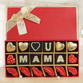 confession to mom - A Chocolate box for mother