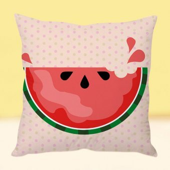 Cool Melon Cushion