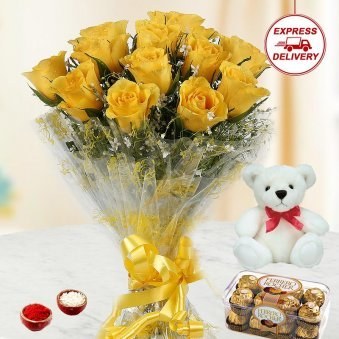 Cuddly Bhai Dooj Combo for brother