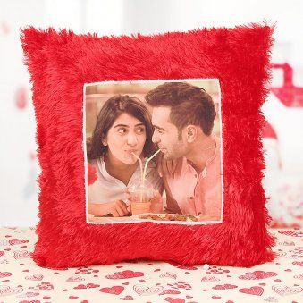 Cuddly Love Cushion - A Photo Pillow Gift