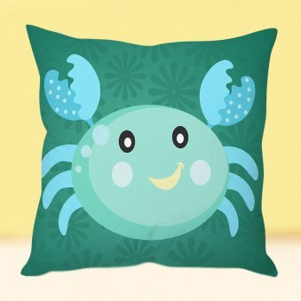 Cute Crabzilla Cushion