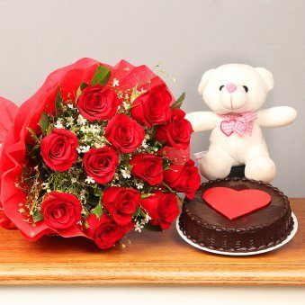 Flowers And Cake Combo Online Flower And Cake Gift Delivery Free