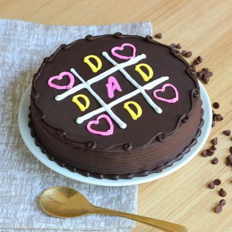 A Chocolate Cake for Father