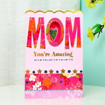 Amazing Mom Greeting Card