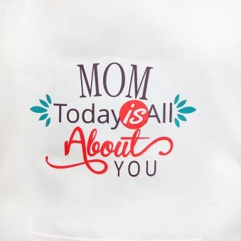 Dedicated To Mom Apron