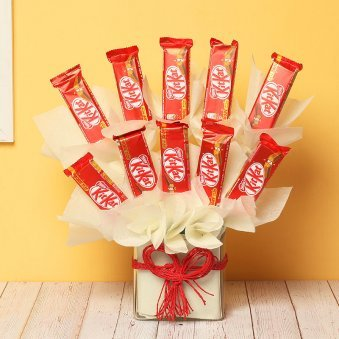 Kitkat Chocolates Bouquet
