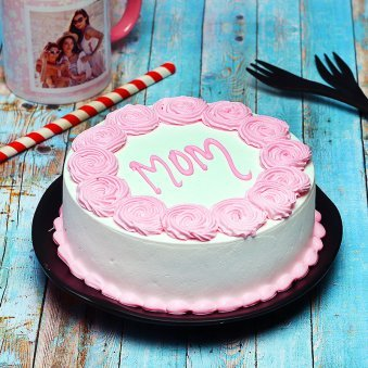 Excellent Birthday Cakes For Mother Online Birthday Cake Ideas For Mom Personalised Birthday Cards Bromeletsinfo