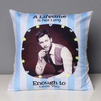 A Lifetime Love Cushion with Clear View