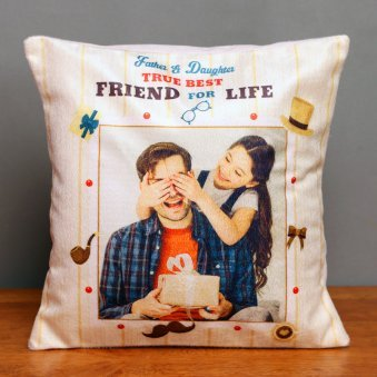 Personalised Cushion for Best Friend Dad