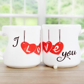 I Love You White Mug