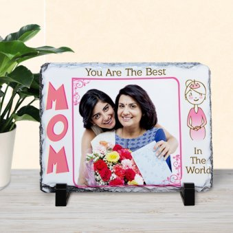 Mom you are the best quoted personalized photo frame