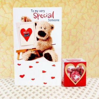 Chocolates and Card Combo