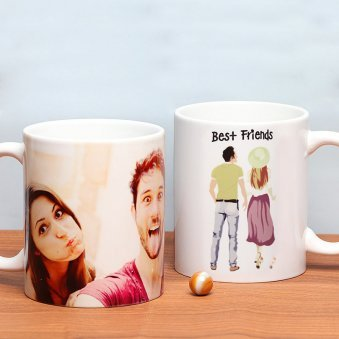 Friendship Captured - Customised Mug Gift for Friend