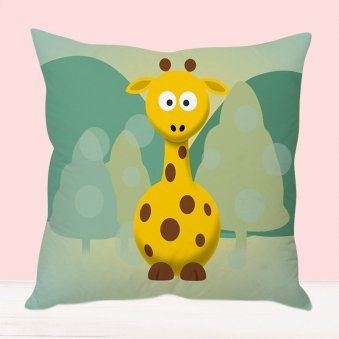 Gary Giraffe Cushion