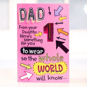 Quoted Greeting Card for Father