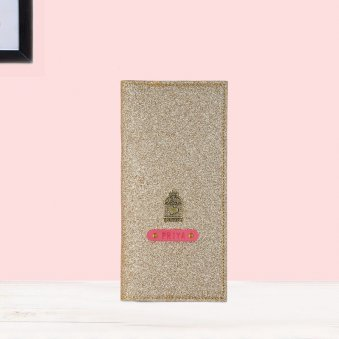 Personalised Travel Folder - Rose Gold