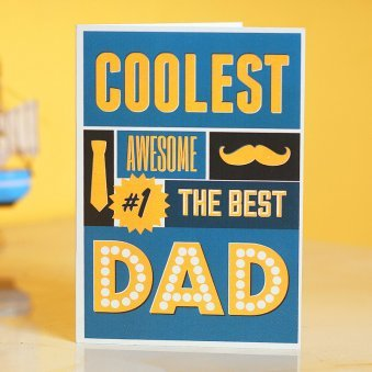 Greeting Card for Coolest Dad