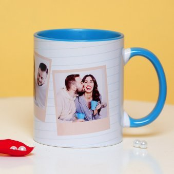 Personalised Love Mug with Front Side View