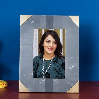 Dray Grey Rectangle Photo Frame