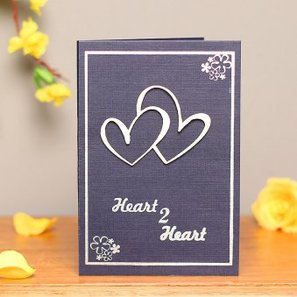 Heart to Heart 3D Greeting Card