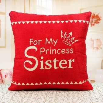 inexpressible love sister cushion