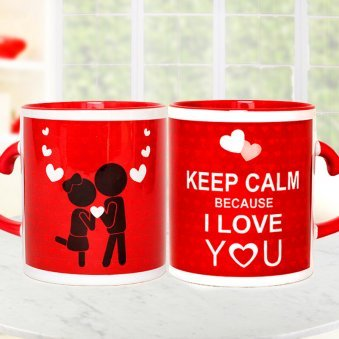 Keep Calm Love You Mug