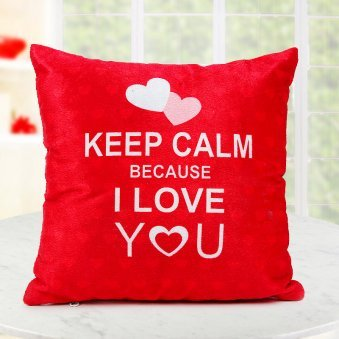 Keep Calm Love You Cushion