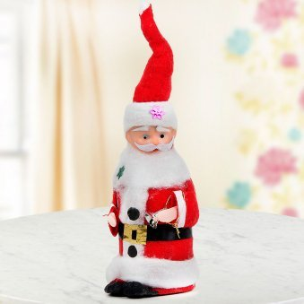 absolutely adorable 6 inch miniature Santa for Christmas