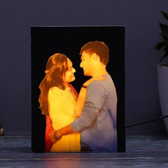Mirage 3D Effect Photo Lamp