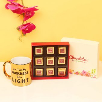 Combo of Chocolates and Mug