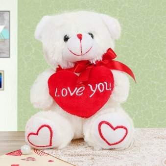 I Love you Teddy with Heart
