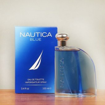 Nautica Blue Perfume with Closer View