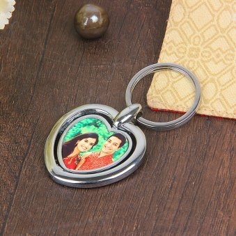 Keyring for Couple with Front Sided View