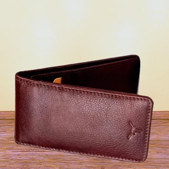 Brown Color Wonderful Leather Card Holder