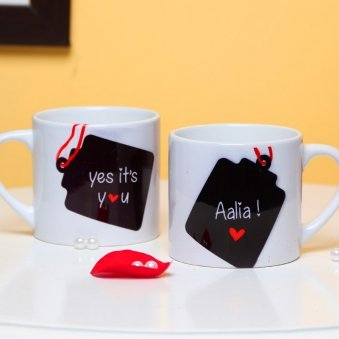 Personalised Name Mug with Both Sided View