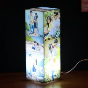 Tower Photo Lamp - 11.5 H X 4 W X 4 D