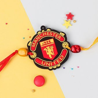Manchester United Football Club Rakhi for Kids