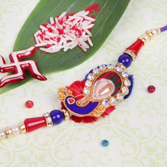 Mayur Vibrancy - Peacock Rakhi for Bro
